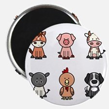 farm animal set Magnet
