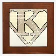 SUP_VIN_K Framed Tile