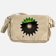 boycott bp tshirt  Messenger Bag
