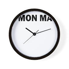 CMON MAN Wall Clock