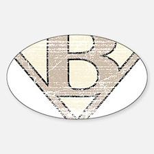 SUP_VIN_B Sticker (Oval)