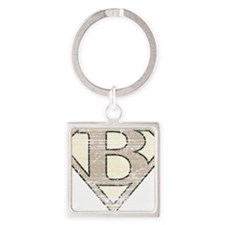 SUP_VIN_B Square Keychain