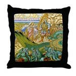 Dobrynia Rescued Throw Pillow
