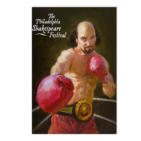 Boxing Shakespeare Postcards (Package of 8)