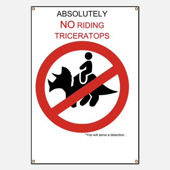 Triceratops Original - Light Banner