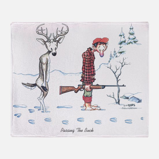 2-Passing the Buck Throw Blanket