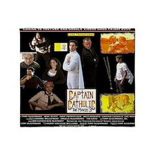 2-CAPTAIN CATHOLIC - THE MOVIE 3 - P Throw Blanket