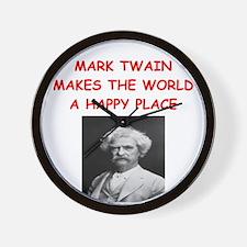 MARKTWAIN.png Wall Clock