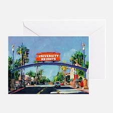 University Heights by Riccoboni Greeting Card
