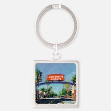 University Heights by Riccoboni Square Keychain