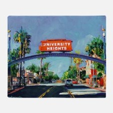 University Heights by Riccoboni Throw Blanket