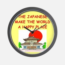 JAPAN.png Wall Clock