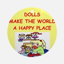 DOLLS.png Ornament (Round)