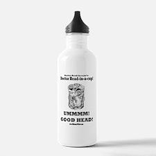 doctor-head-in-a-cup-d Water Bottle
