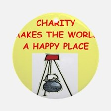 CHARITY.png Ornament (Round)