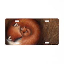 2-Cub spread 12 Aluminum License Plate