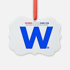 2-Wtf Ornament
