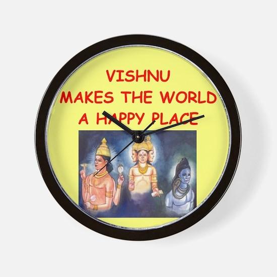 VISHNU.png Wall Clock