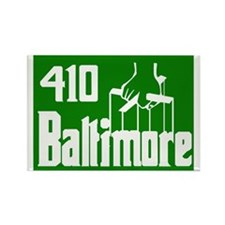 Baltimore,Md -- T-Shirt Rectangle Magnet