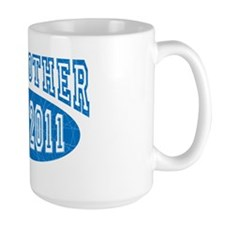 BIG BROTHER EST 2011 cracked crop Mug