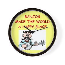 BANJO.png Wall Clock