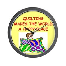 QUILT.png Wall Clock