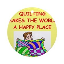 QUILT.png Ornament (Round)