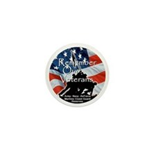 MemorialDayRem A Mini Button