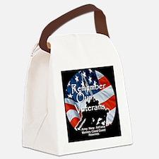 MemorialDayRem A Shirt Canvas Lunch Bag