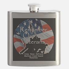 MemorialDayRem A Shirt Flask