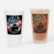 MemorialDayRem A Shirt Drinking Glass