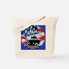 MemorialDayRem E Blue Tote Bag