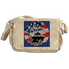 MemorialDayRem E Blue Messenger Bag