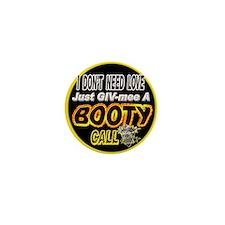 500BOO-T-CALL-TSHIRT.BLACK- Mini Button