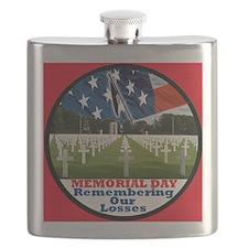 3-MemorialDay DA 2 sq Flask