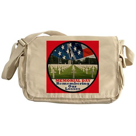 3-MemorialDay DA 2 sq Messenger Bag