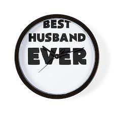 BEST HUSBAND EVER Wall Clock