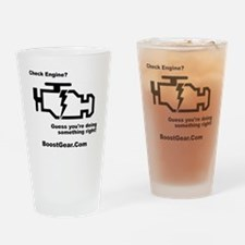 Check%20Engine Drinking Glass