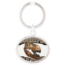Old_Bookkeeping_21x14_RK2010 Oval Keychain