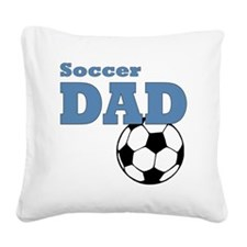 Soccer Dad Square Canvas Pillow