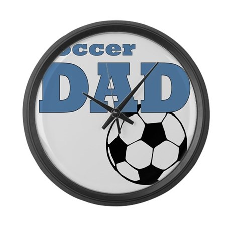 Soccer Dad Large Wall Clock