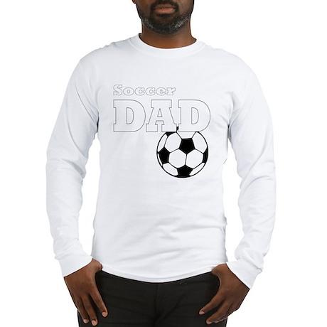 Soccer Dad black tees Long Sleeve T-Shirt