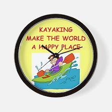KAYAK.png Wall Clock