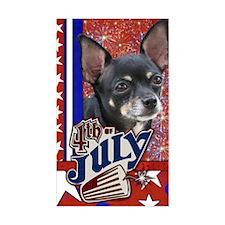 July_4_Firecracker_Chihuahua_I Decal