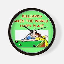 BILLIARDS.png Wall Clock