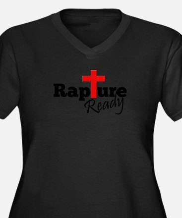 Rapture Ready Plus Size T-Shirt