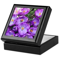 crocus-note_4589 Keepsake Box