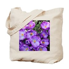 crocus-note_4589 Tote Bag