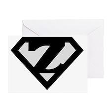 super_black_z Greeting Card