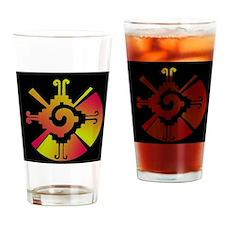 Hunab Ku Cafe Press 2  Drinking Glass